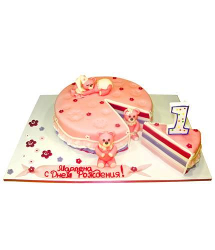 Торт Сонные мишки