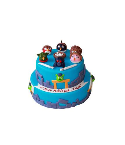 Торт с Angry Birds