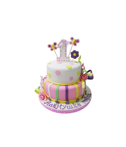 Праздничный торт на день рождение