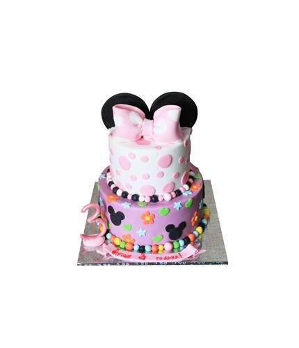 Торт в форме Минни Маус