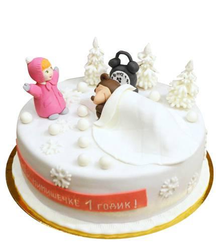 Торт Маша и Медведи