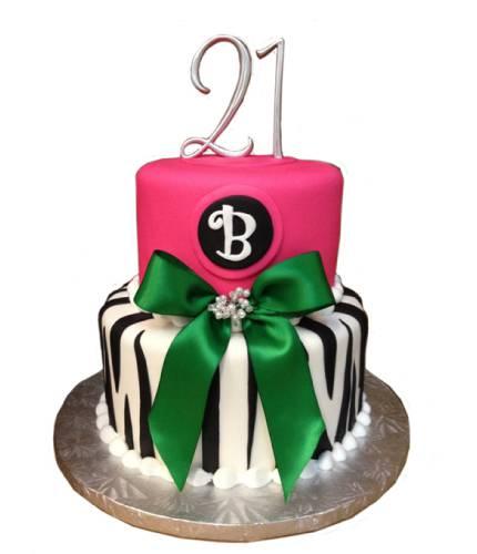 Торт на 21 год