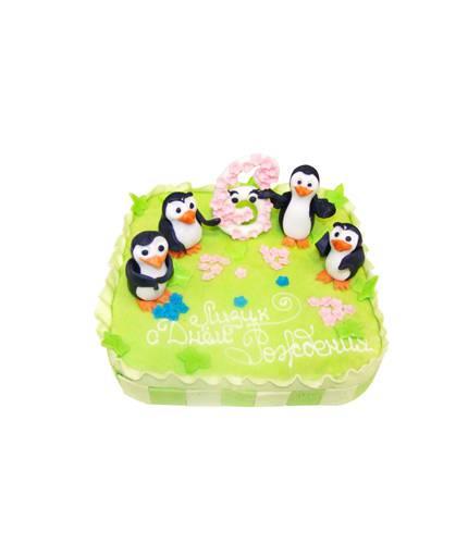 Торт Пингвинчики