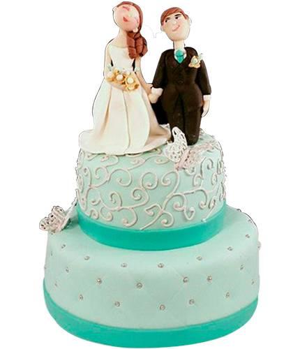Торт с мультяшными фигурками